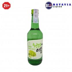 Soju Jinro Chamisul Green Grape 360ml
