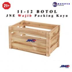 Tambahan Packing Kayu Khusus JNE (11-12 Botol)